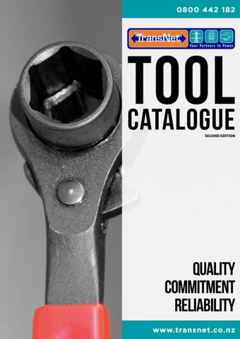 e30a1b303be7 TransNet NZ Ltd Tool Catalogue - Second Edition by TransNet NZ Ltd - issuu