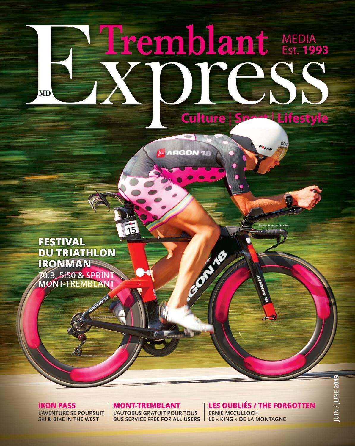 Junio 2019 Issuu Tremblant Express Por H9DEIYWe2