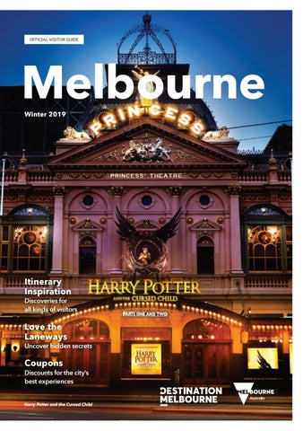 Melbourne Official Visitors Guide - Winter 2019 by