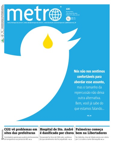32abece7873e Jornal Metrô ABC Nº 2.182 by Portal Academia do Samba - issuu