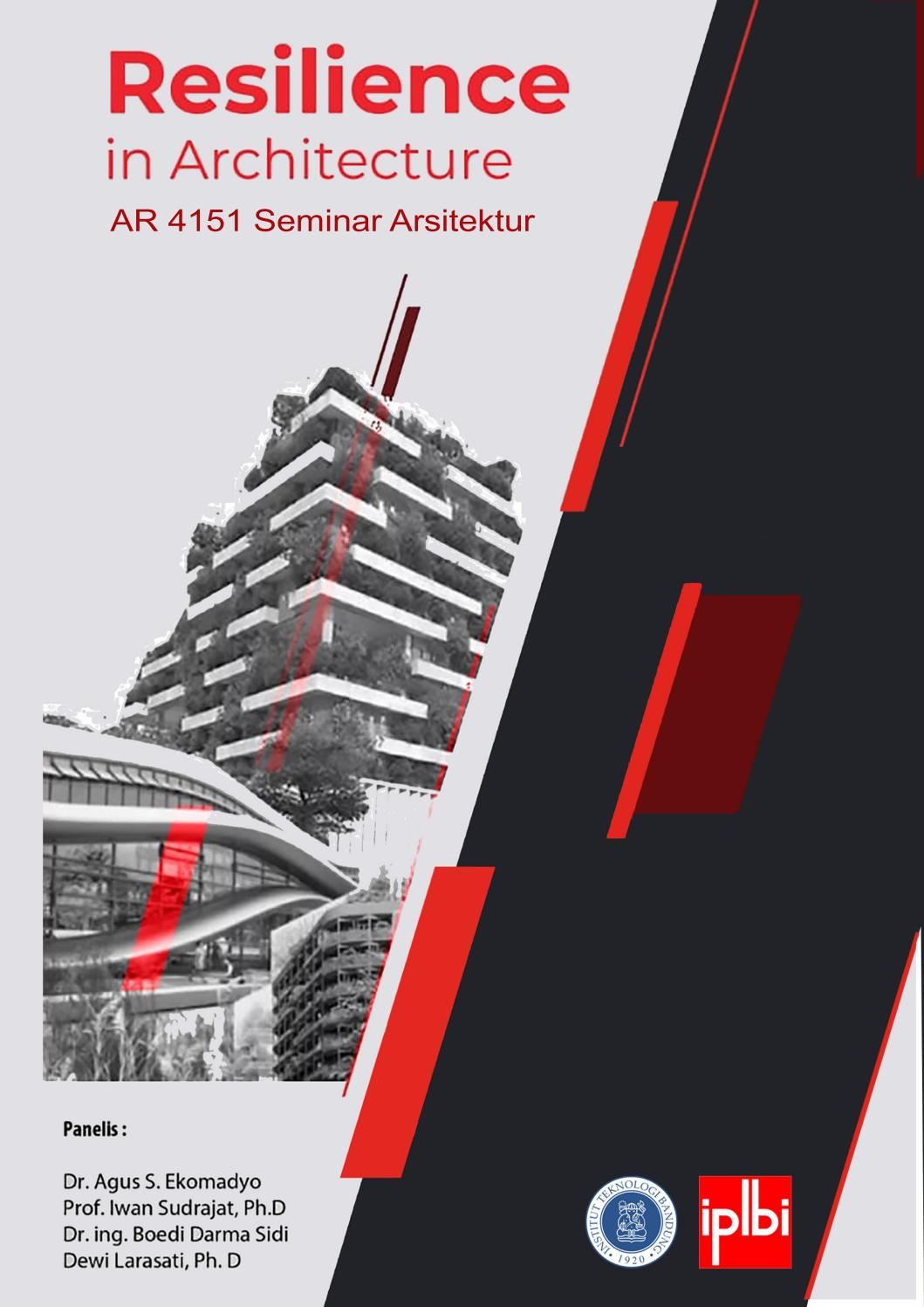 Ar4151 Seminar Arsitektur Semester I 2018 2019 By Unit Publikasi Program Studi Arsitektur Itb Issuu