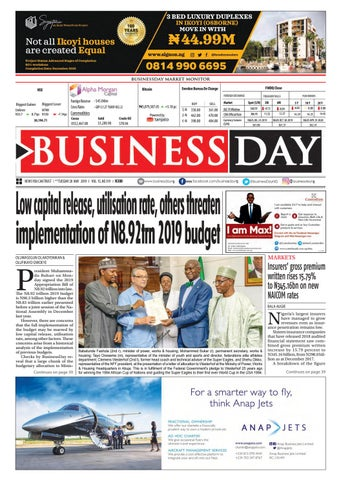 BusinessDay 28 May 2019 by BusinessDay - issuu