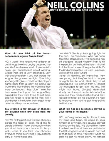 Page 6 of Coach's Corner