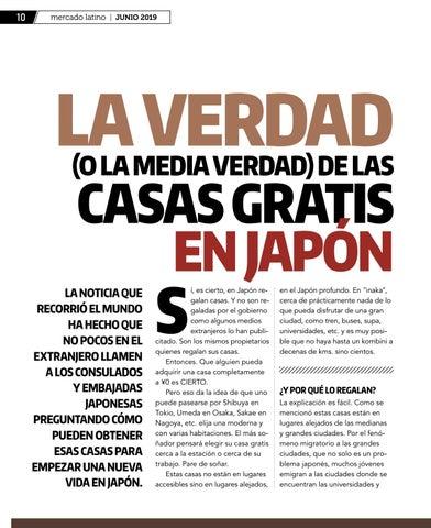 Page 10 of La verdad sobre las casas gratis en Japón.