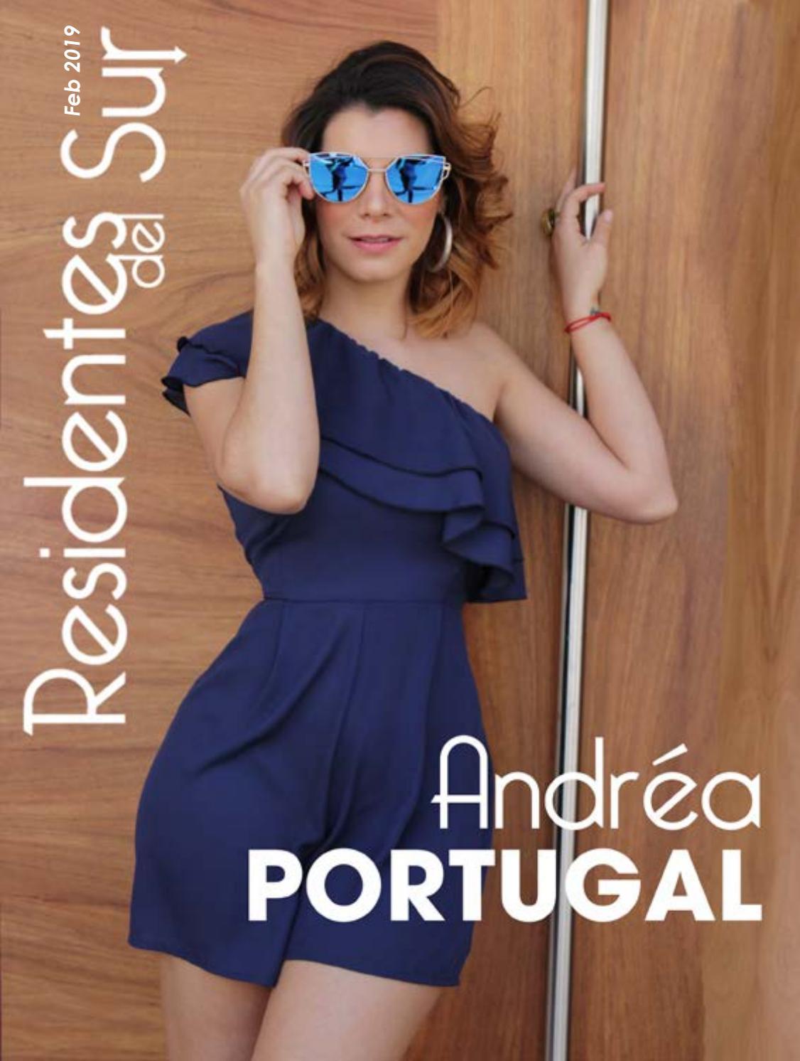 Andrea Duro Descuido revista residentes del sur - febrero 2019 - andréa portugal