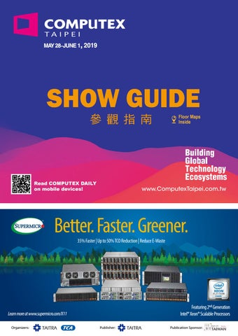 2019 COMPUTEX SHOW GUIDE by eyeontw news - issuu