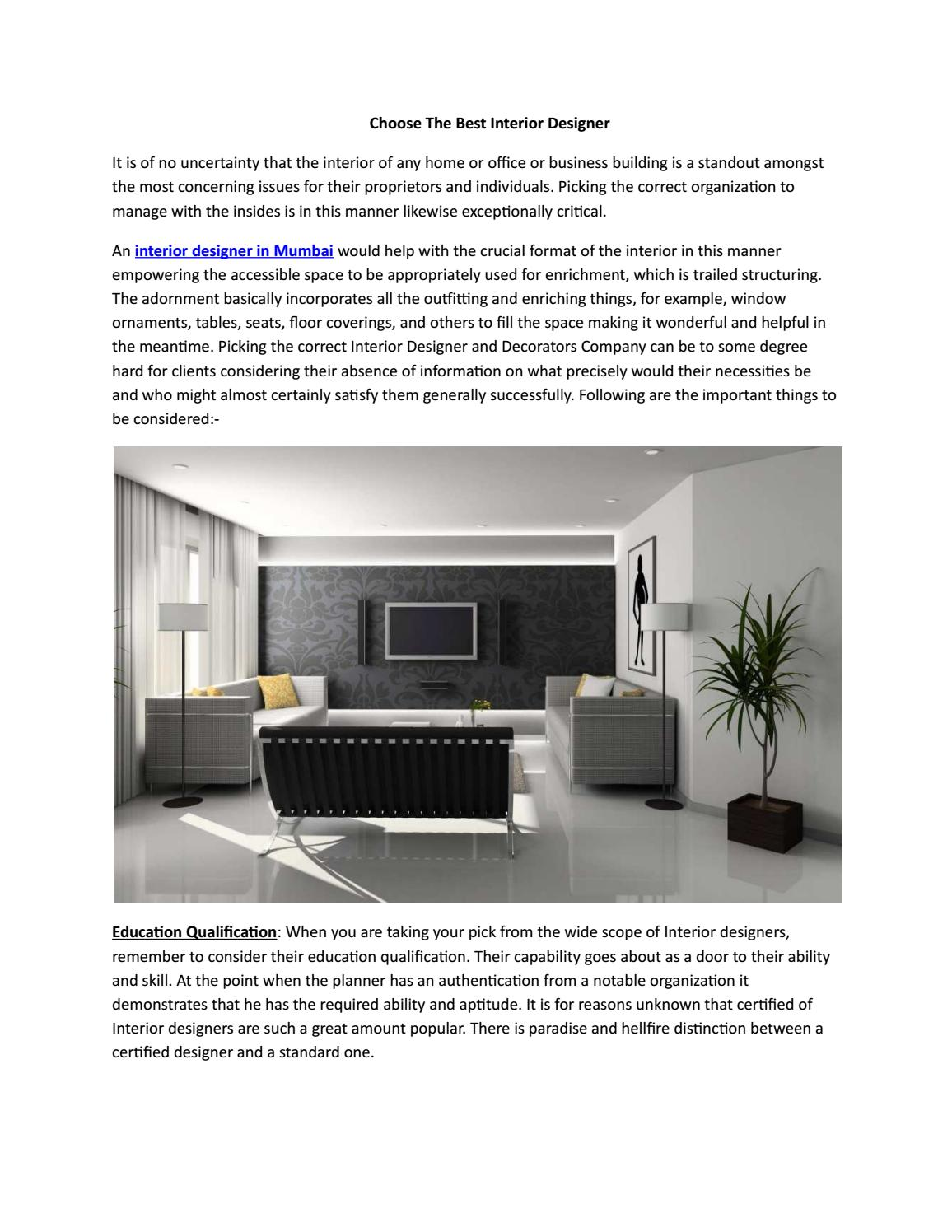 Thane Interior Designer By Jyani Interior Issuu