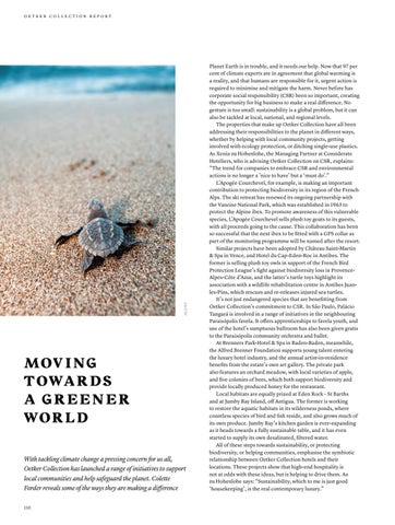 Page 110 of Moving towards a greener world