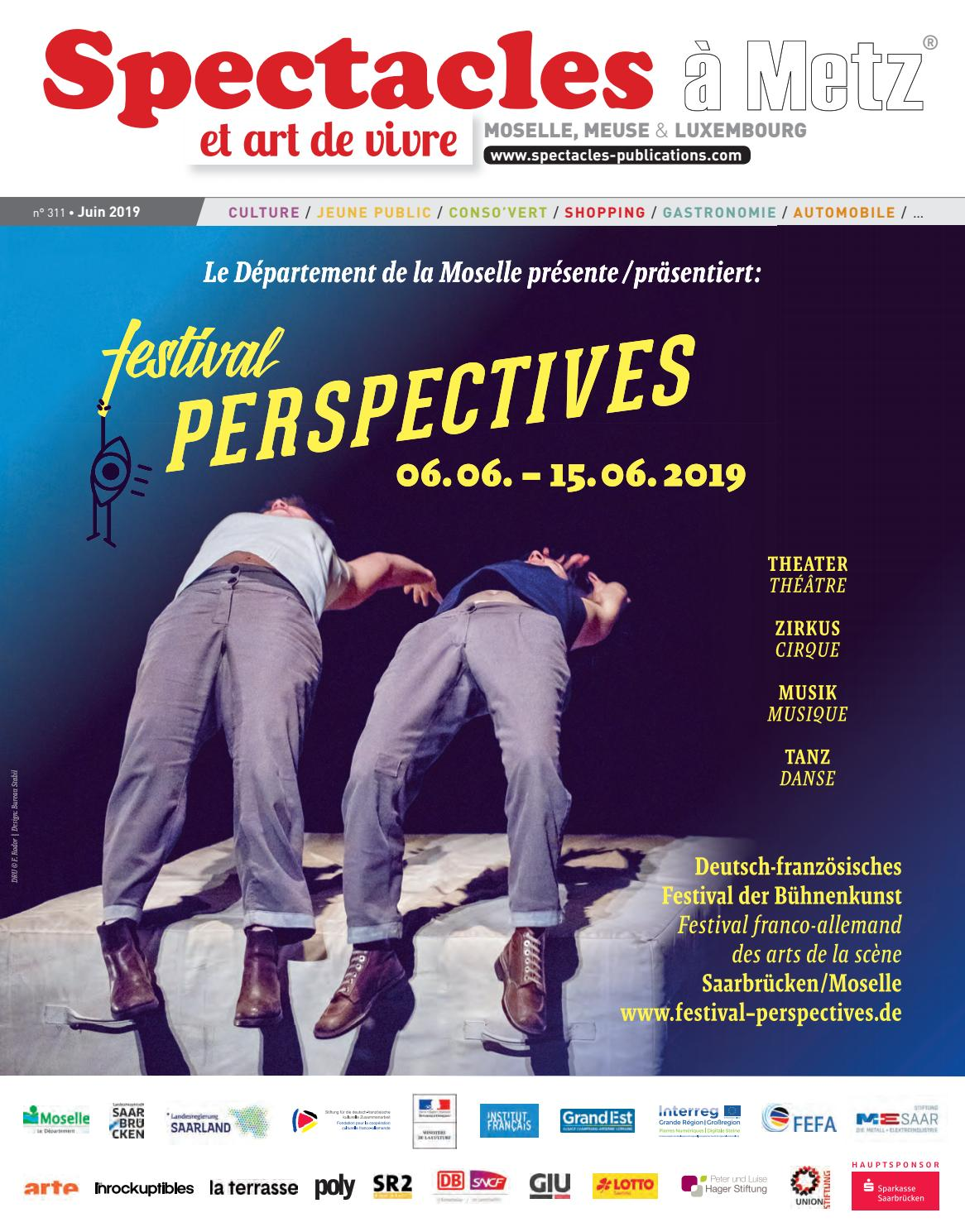 Spectacles Publications Metz N311 Juin 2019 By Spectacles