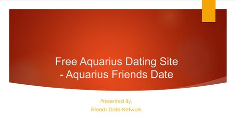 dating Aquarius