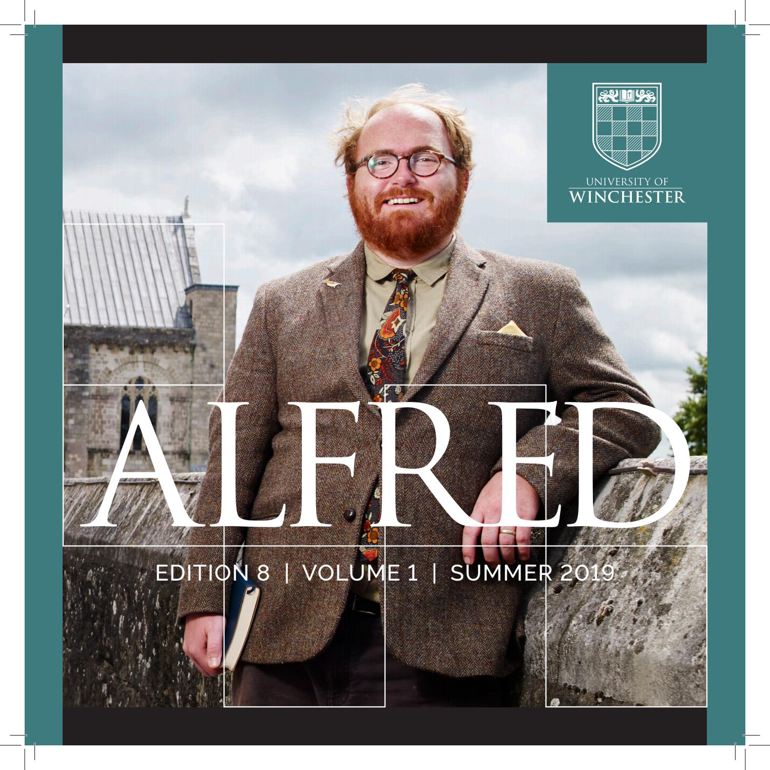 ALFRED 2019 Edition 8 Vol  1 by University of Winchester - issuu