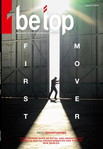 Be Top 01/2019 by Rittal ES - issuu
