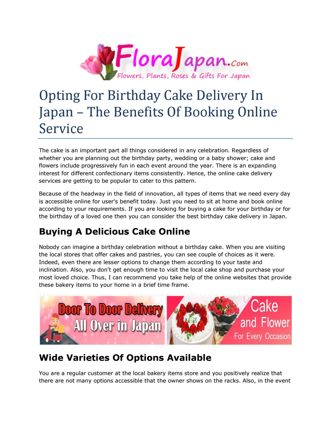 Miraculous Opting For Birthday Cake Delivery In Japan The Benefits Of Funny Birthday Cards Online Barepcheapnameinfo