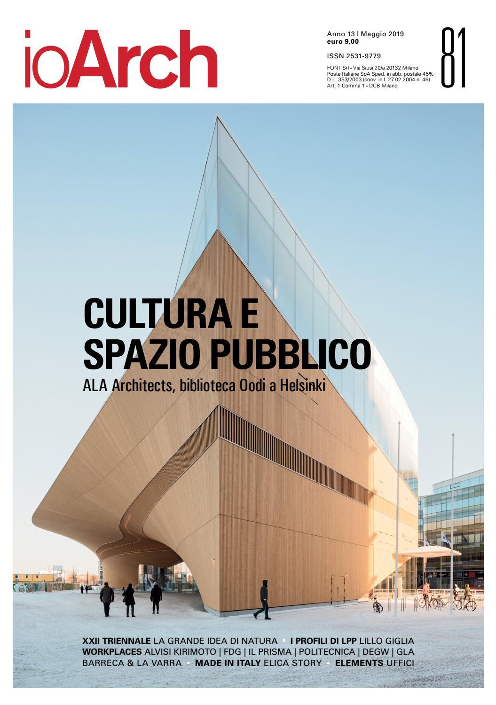 Architetti Famosi Lecce ioarch 81 apr_may 2019 by redazione ioarch - issuu