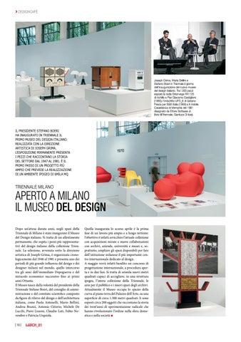Page 10 of Aperto a Milano il museo del design
