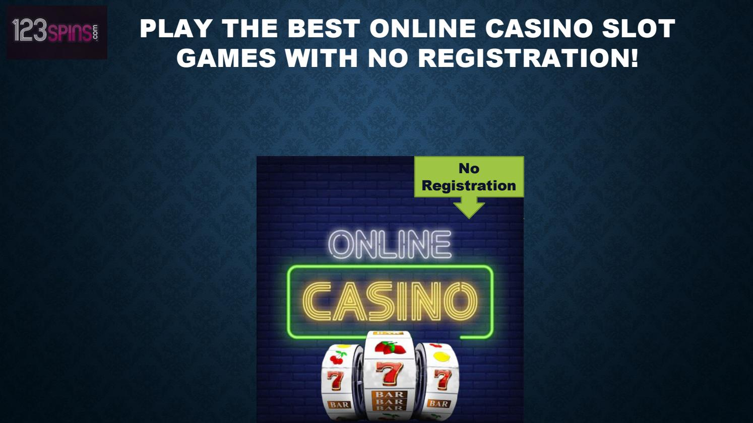 Casino online no registration казино шамбала играть i