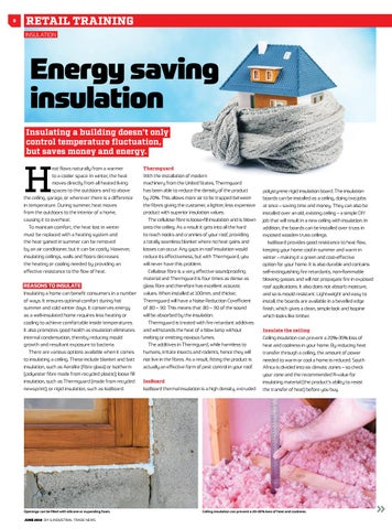 Page 8 of Energy saving insulation