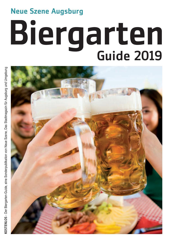Biergarten Guide Augsburg 2019 By Neue Szene Augsburg Issuu