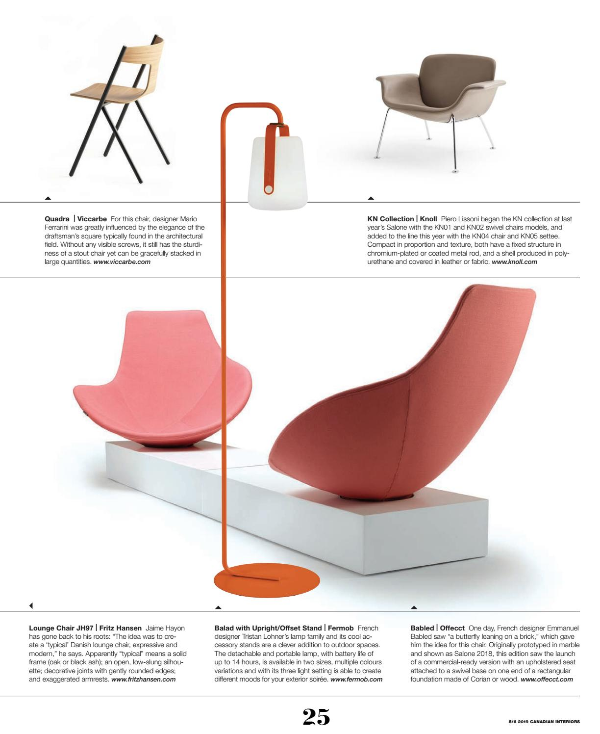 Wondrous Canadian Interiors May June 2019 By Iq Business Media Issuu Frankydiablos Diy Chair Ideas Frankydiabloscom