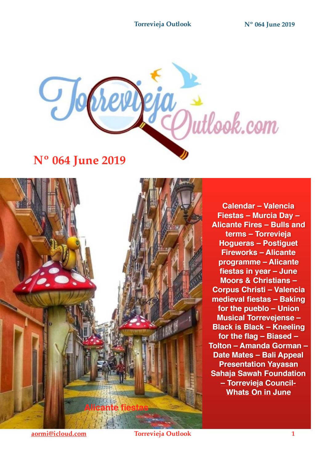June 2019, 064 Torrevieja Outlook by Andy Ormiston - issuu
