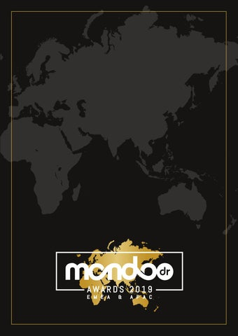 mondo*dr Awards EMEA & APAC 2019 Supplement by Mondiale