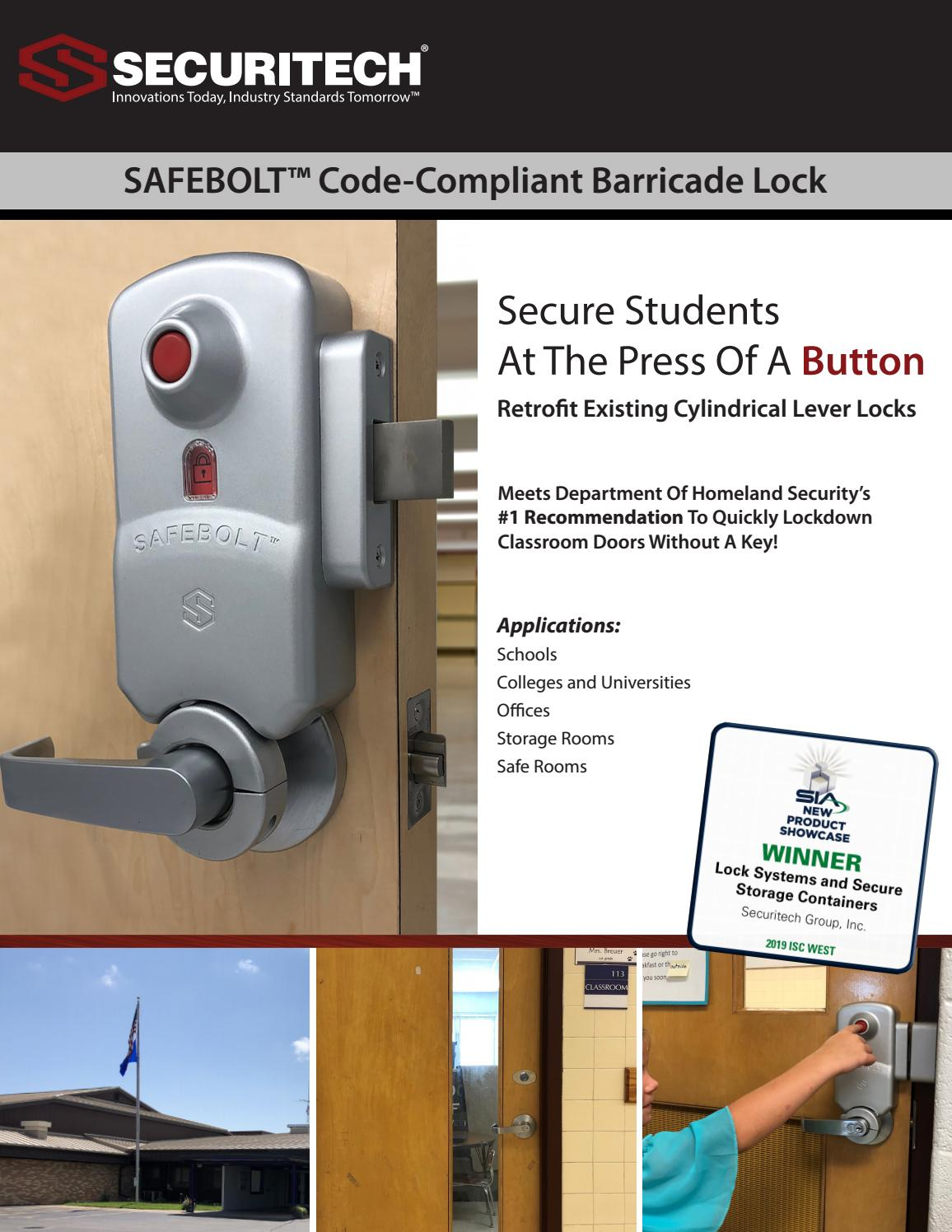 SAFEBOLT™ by Securitech Group, Inc  - issuu