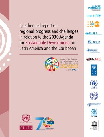 Quadrennial Report On Regional Progress And Challenges In