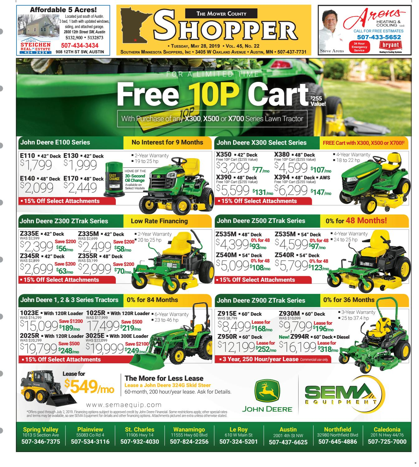 MCS 05 28 19 by Mower County Shopper - issuu