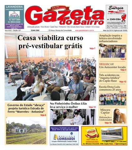 d98ec94b31 Gazeta do Bairro Maio 2019 by Gazeta do Bairro - issuu
