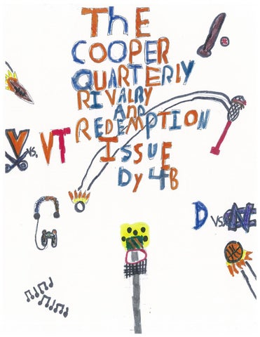 Cooper Quarterly: Rivalry and Redemption Issue by Norfolk