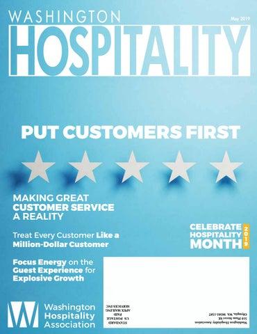 Washington Hospitality Magazine May 2019 by Washington Hospitality