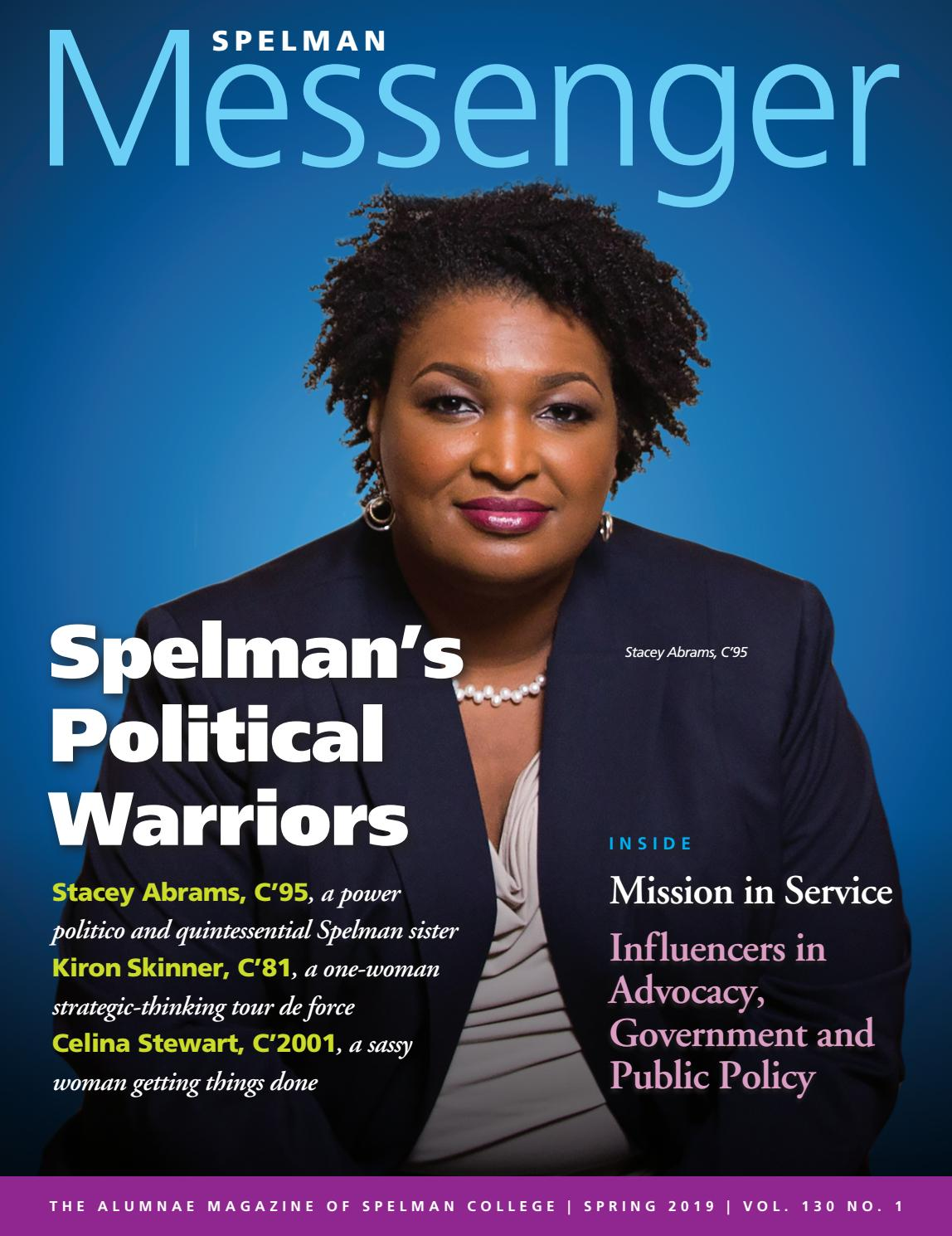Spelman Messenger spring 2019 by Spelman College - issuu