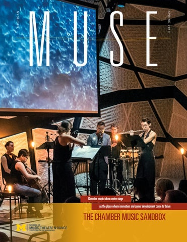 Michigan Muse - Spring 2019 by University of Michigan School of