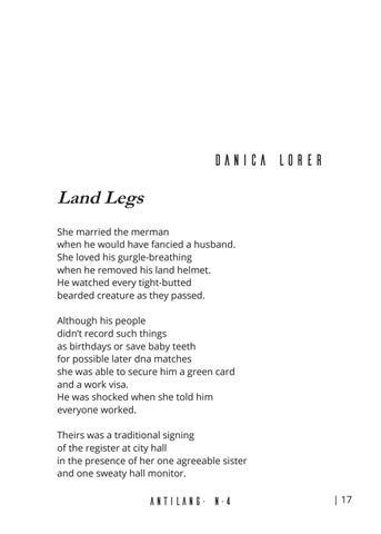 Page 21 of Land Legs