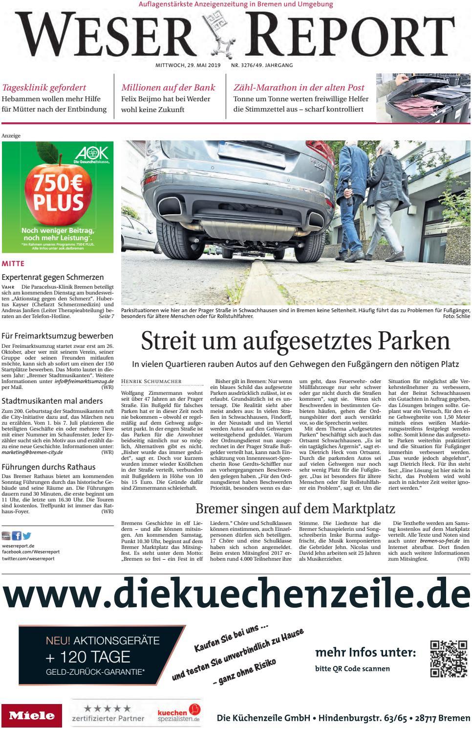 Weser Report - Mitte vom 29.05.2019 by KPS Verlagsgesellschaft ...