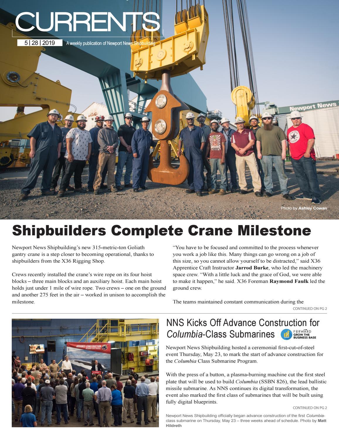 May 28, 2019 by Newport News Shipbuilding - issuu
