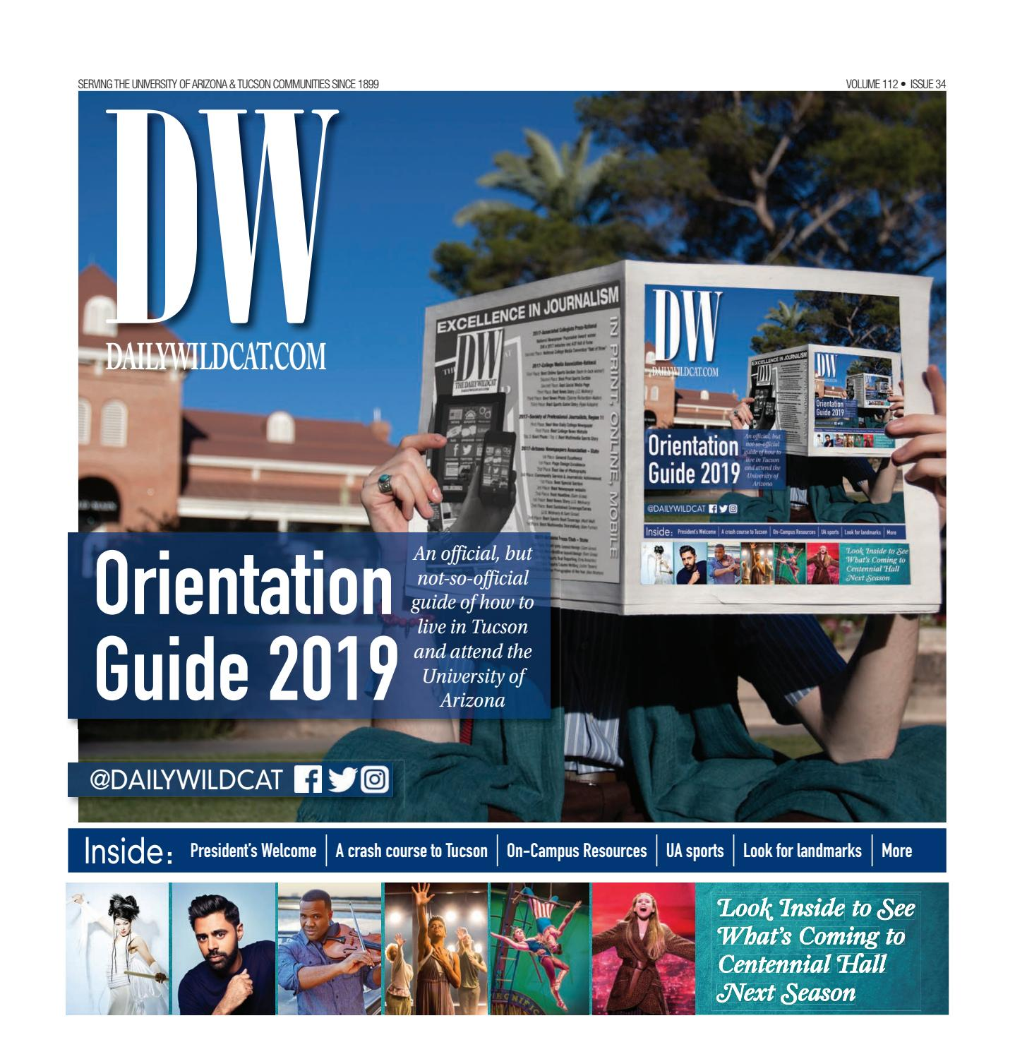 Special Edition: Orientation Guide 5 29 19 by Arizona Daily