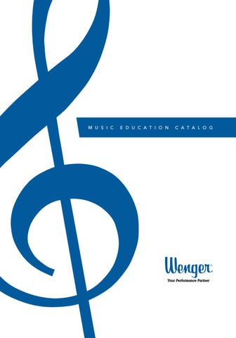 Wenger Music Education Catalog - International by Wenger