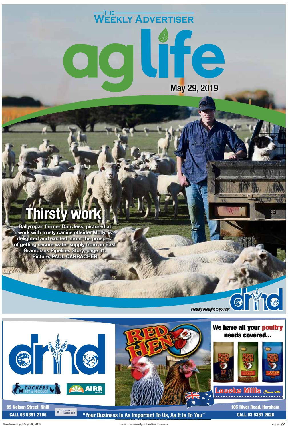 AgLife – May 29, 2019 edition by The Weekly Advertiser - issuu