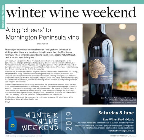 Page 108 of Winter Wine Weekend 2019