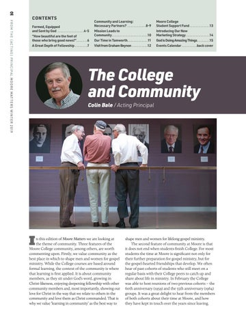 Page 2 of The College and Community