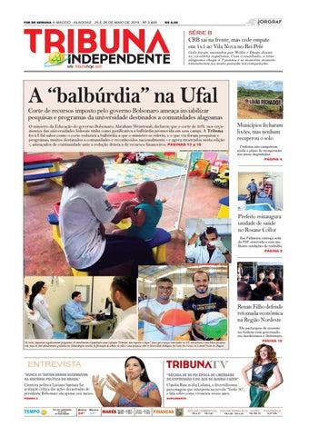 92539fabd1 Edição número 3400 - 25 e 26 de maio de 2019 by Tribuna Hoje - issuu
