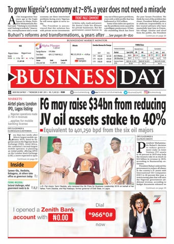 BusinessDay 29 May 2019 by BusinessDay - issuu