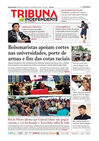 89e4fe18cf Edição número 3402 - 29 de maio de 2019 by Tribuna Hoje - issuu