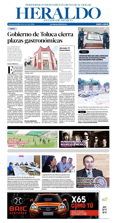Miércoles 29 de mayo 2019 by Heraldo Estado de México - issuu