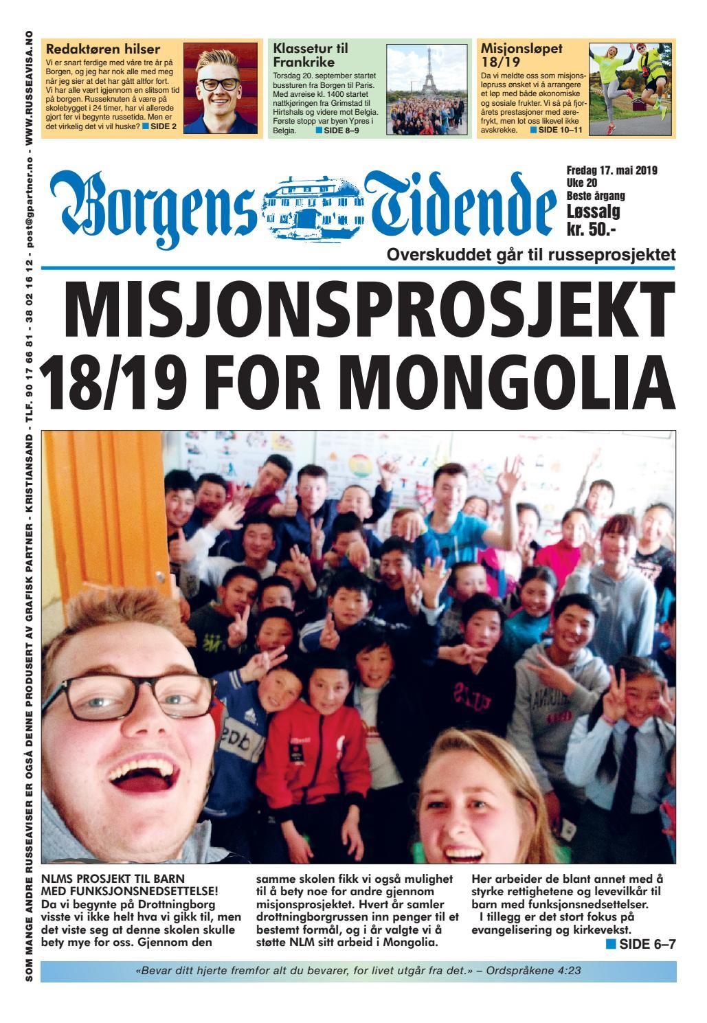 147b414a Russeavisa 2019 for Drottningborg videregående skole by Grafisk Partner -  issuu
