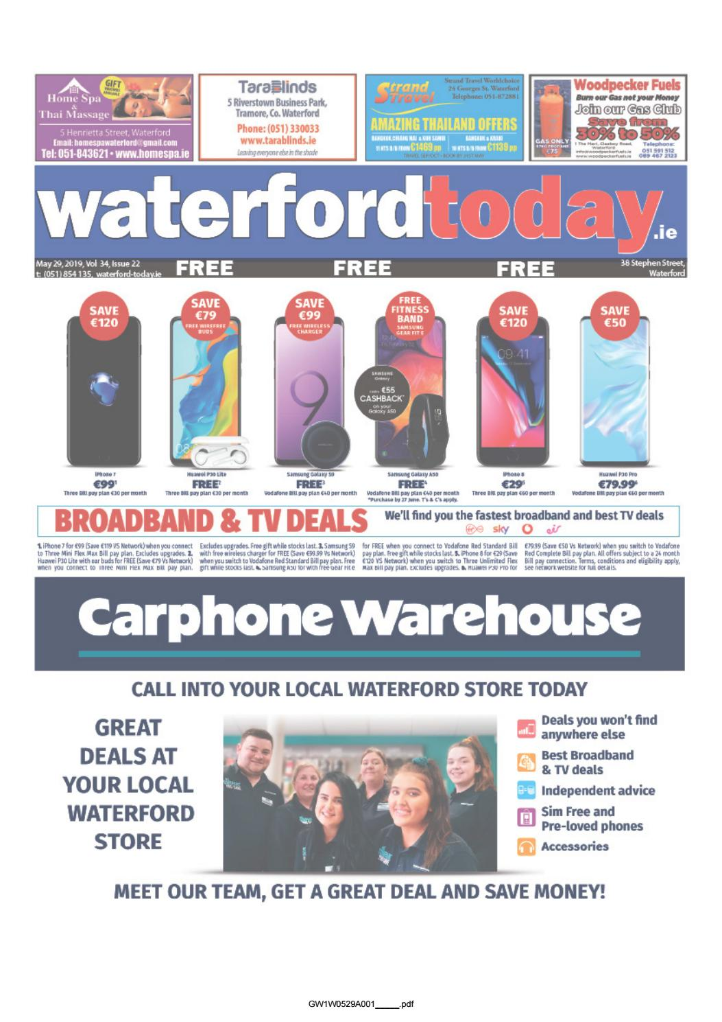 Waterford Today 29-05-2019 by Waterford Today - issuu
