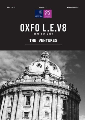 a4348ddb1e8 OXFO L.E.V8 Cohort 2 - demo day venture detailed profiles by ...