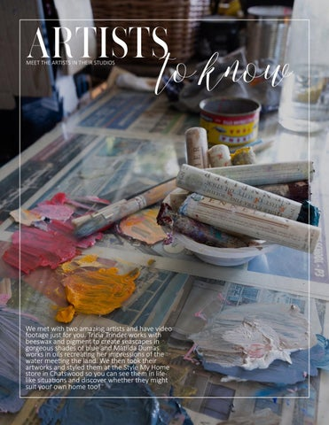 Page 69 of LOCAL SYDNEY ARTISTS TALK ABOUT THEIR WORK