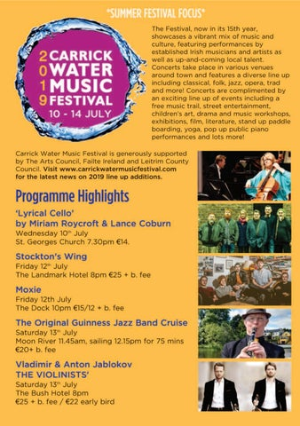 Page 14 of Carrick Water Music Festival